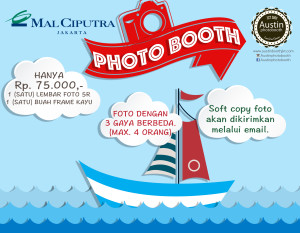 Sailing Photobooth at Mal Ciputra Jakarta, 27 January – 14 February 2016